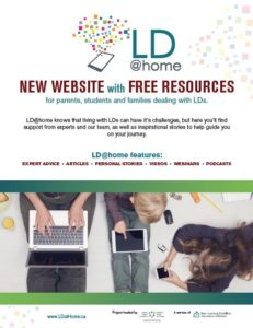 Image of LD@home flyer